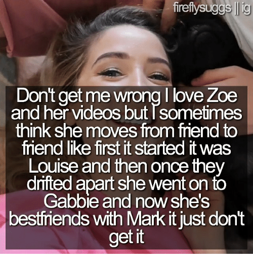 Love, Memes, and Videos: fireftysuggs lig Dont get me wrong love Zoe and
