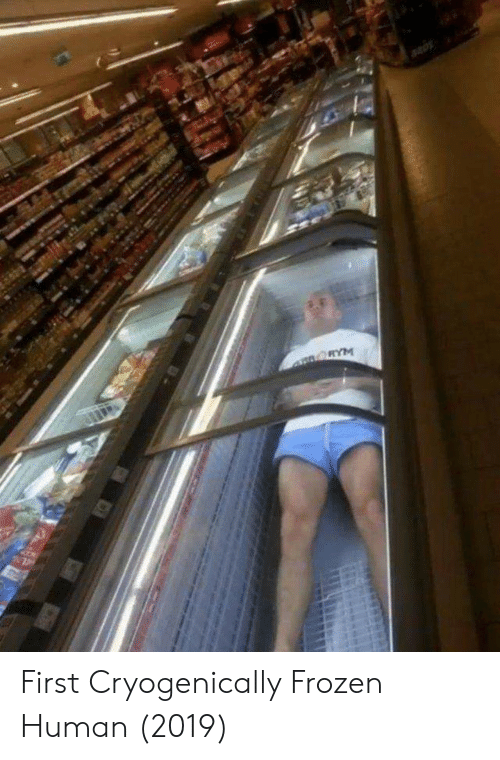 Frozen, Human, and First: First Cryogenically Frozen Human (2019)