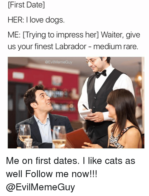 how to impress a guy on your first date