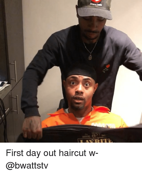 Haircut, Memes, and 🤖: First day out haircut w- @bwattstv