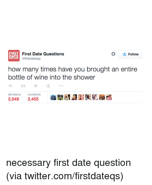1st date questions