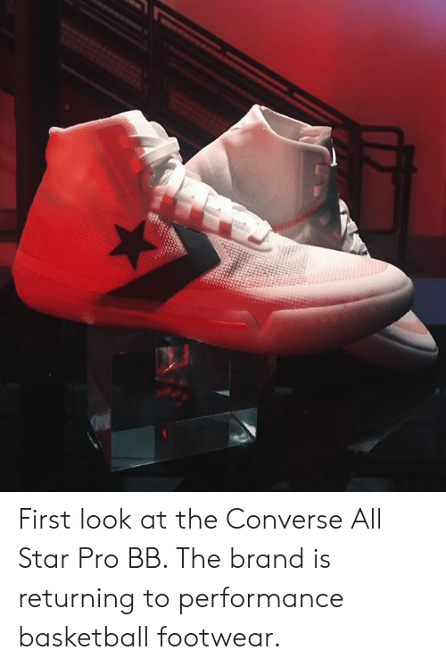 e704fab6a206 First Look at the Converse All Star Pro BB the Brand Is Returning to ...