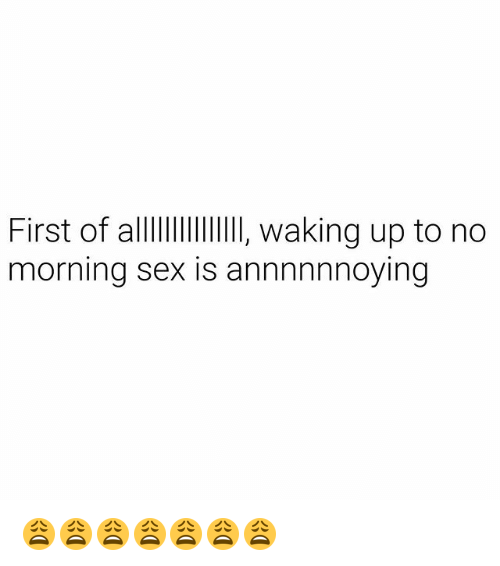 waking up to some great sex