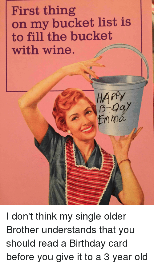 First thing on my bucket list is to fill the bucket with wine happy birthday bucket list and funny first thing on my bucket list is to bookmarktalkfo Gallery