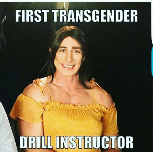 Memes, 🤖, and Drilling: FIRST TRANSGENDER  DRILL INSTRUCTOR