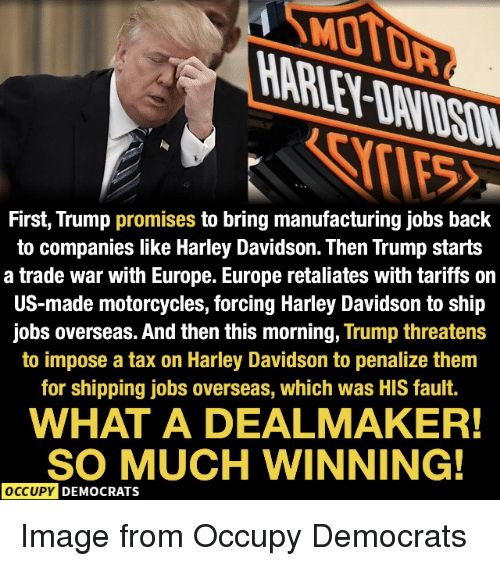 First Trump Promises To Bring Manufacturing Jobs Back To