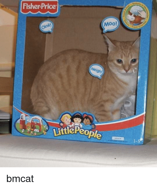 Memes, Fisher Price, and 🤖: Fisher Price  Moo!  Neigh!  Little People bmcat