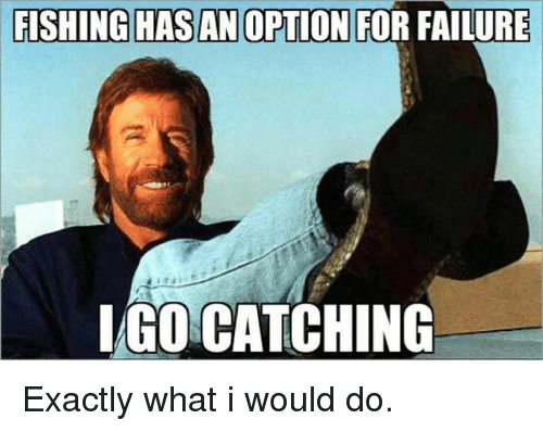 Fishing Hasan Option For Failure Iago Catching Exactly What I Would