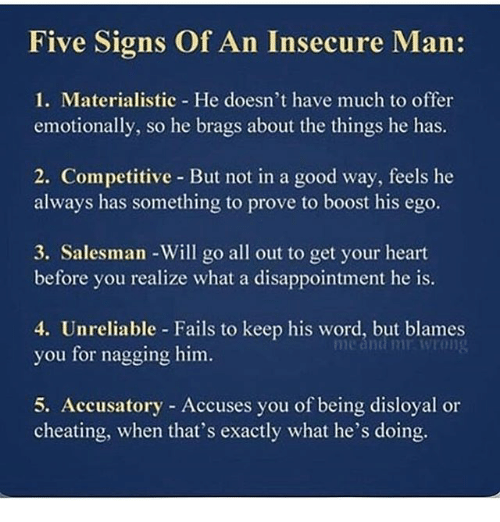 Insecure husband signs