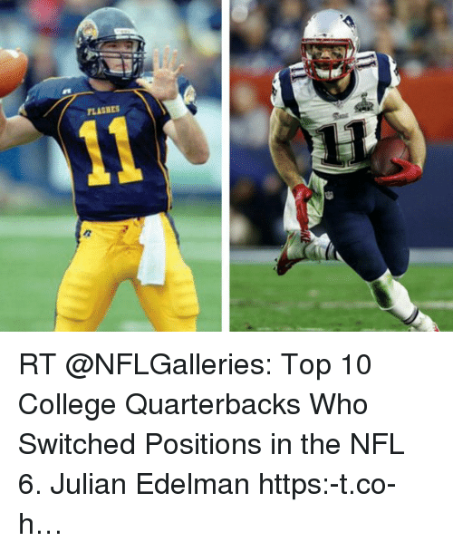 Flashes Rt Top 10 College Quarterbacks Who Switched