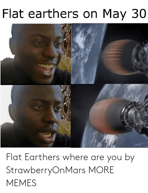 Dank, Memes, and Target: Flat Earthers where are you by StrawberryOnMars MORE MEMES