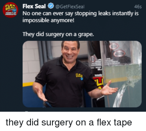 Flexing Seal And Leaks Flex Getflexseal 465 No One Can Ever