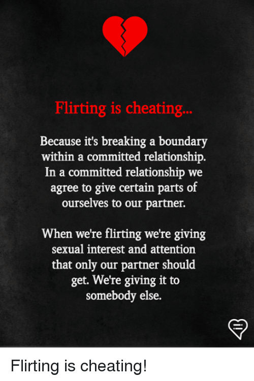 flirting vs cheating committed relationship meme facebook page photos