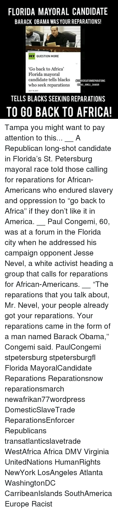 Family fun forbidden fruit pastebin - Africa America And Dmv Florida Mayoral Candidate Barack Obama Was Your Reparations