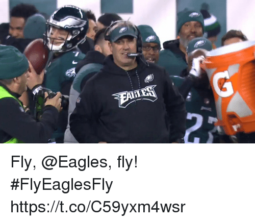 Philadelphia Eagles, Memes, and 🤖: Fly, @Eagles, fly! #FlyEaglesFly https://t.co/C59yxm4wsr