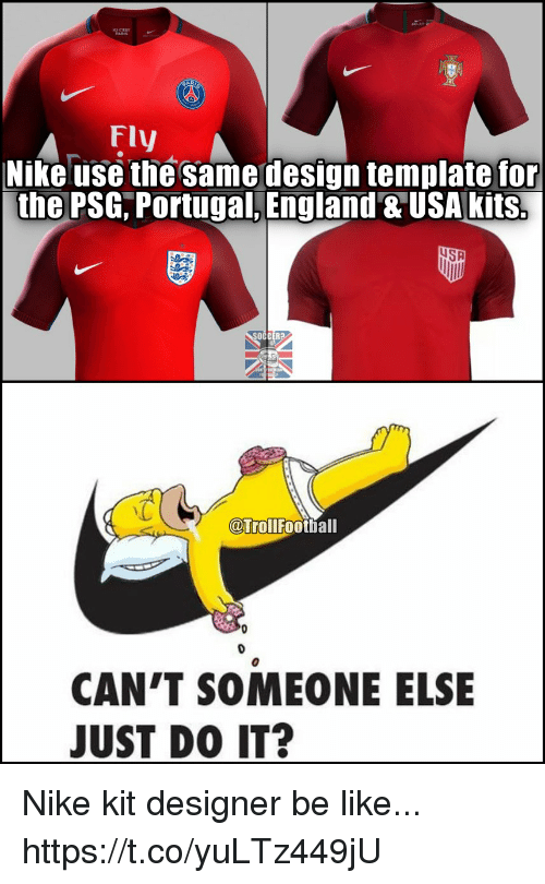 Fly nike use the same design template for the psg portugal england be like football and just do it fly nike use the same design voltagebd Images