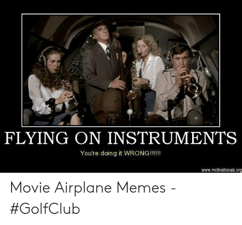 Flying On Instruments You Re Doing It Wrong