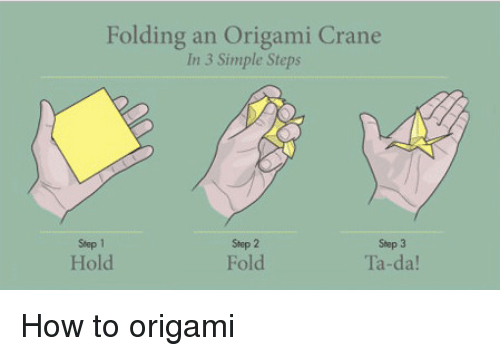 how to make an origami knife step by step