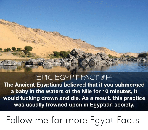 Facts, Egypt, and For: Follow me for more Egypt Facts