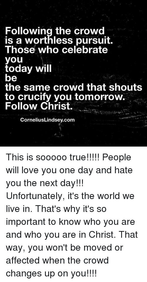 why is the crowd important in Why is this important how to be an outstanding conversationalist (12)on the importance of being part of a group (12)why changing up your routine is healthy.