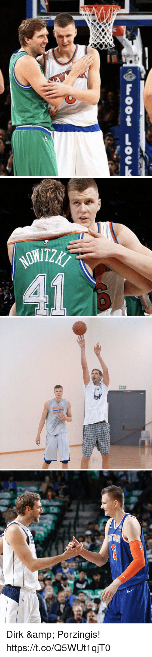 Memes, 🤖, and Foot: Foot Lock Dirk & Porzingis! https://t.co/Q5WUt1qjT0