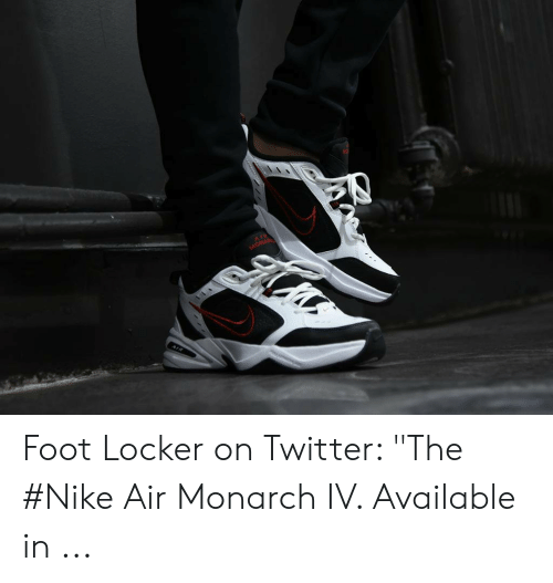online for sale buy sale usa online Foot Locker on Twitter the #Nike Air Monarch IV Available in ...