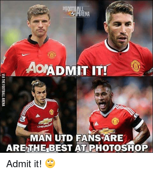 Manchester United Funny Meme : Best memes about admit it
