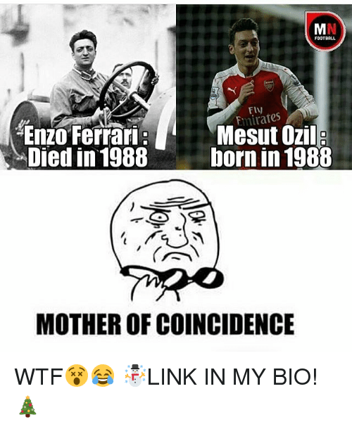 Football Emirates Mesut Ozil Enzo Ferrari Died In 1988 Born In 1988