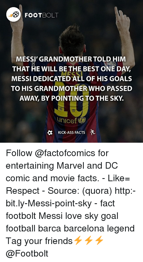FOOTBOLT MESSI GRANDMOTHER TOLD HIM THAT HE WILL BE THE BEST