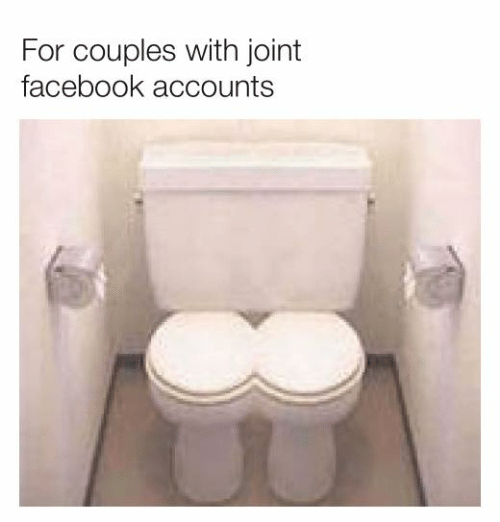 Dank, Facebook, and 🤖: For couples with joint  facebook accounts