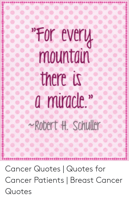 For Every Mountain There Is a Miracle RObert H Schuller