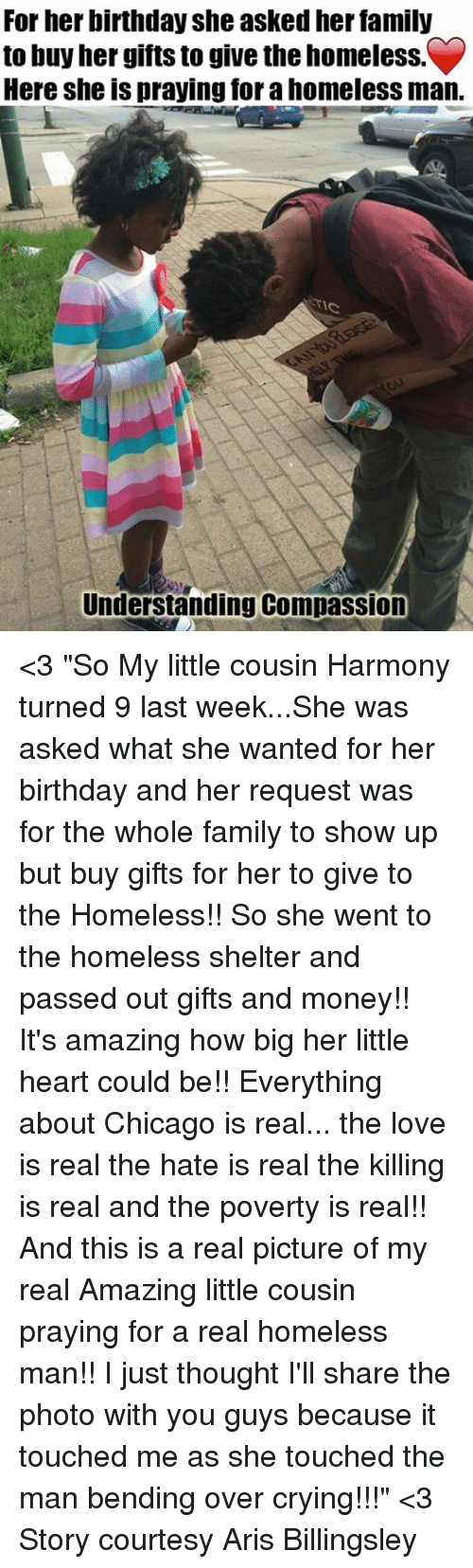 Birthday Chicago And Crying For Her She Asked Family To Buy