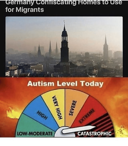 for migrants autism level today low moderate low moderate catastrophic 25216460 for migrants autism level today low moderate low moderate