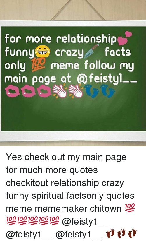 For More Relationship Funny Crazy Facts Only Meme Follow My Main