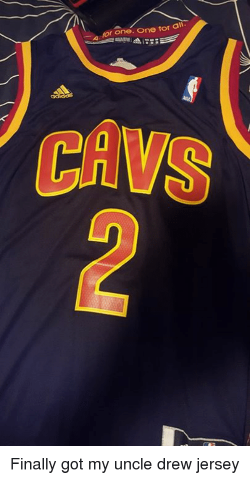 For One One for All CAWS Finally Got My Uncle Drew Jersey  e0f4d6d25