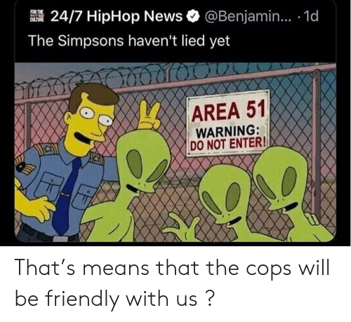 For THE CULTURE 247 HipHop News@Benjamin 1d the Simpsons Haven't