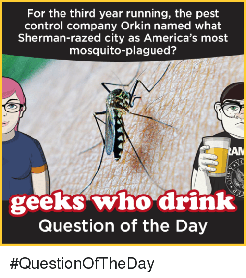 For the Third Year Running the Pest Control Company Orkin