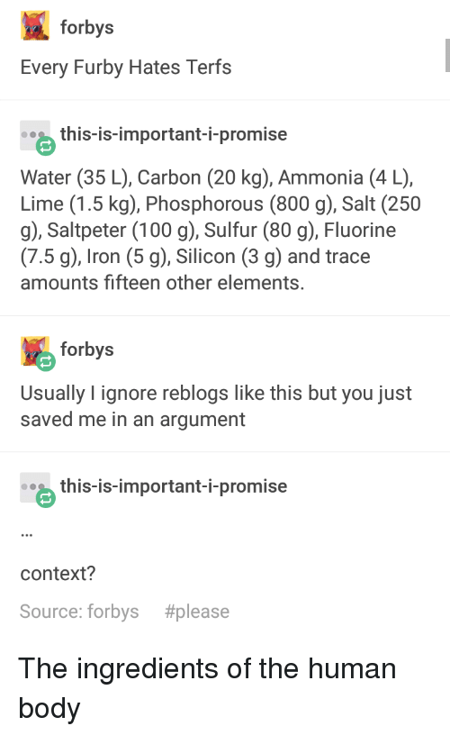 Forbys Every Furby Hates Terfs This-Is-Important-I-Promise Water 35