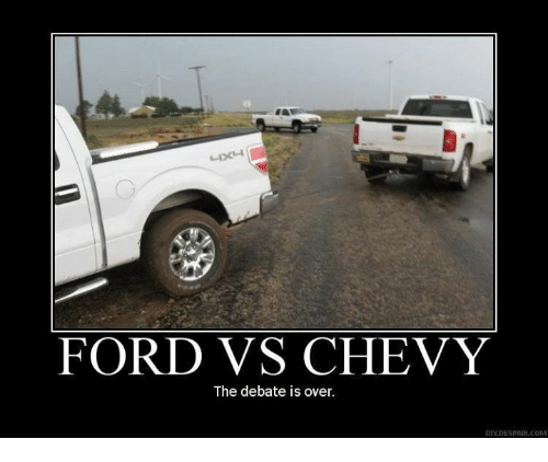 ford vs chevy the debate is over ydespaur com 460039 ✅ 25 best memes about ford vs chevy ford vs chevy memes