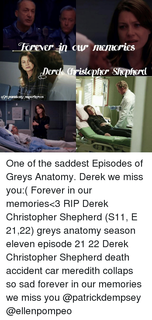 Forever in Ow Memories One of the Saddest Episodes of Greys Anatomy ...