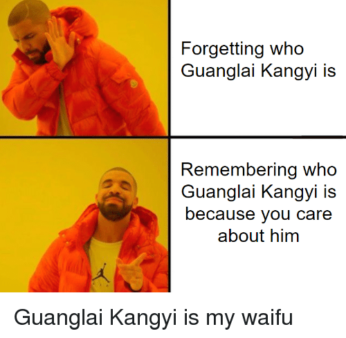 Forgetting Who Guanglai Kangyi Is Remembering Who Guanglai