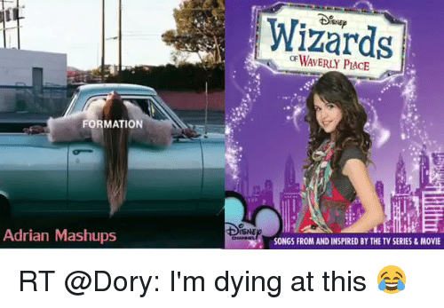 Funny Meme Mashups : Formation adrian mashups wizards songs from and inspired by the tv