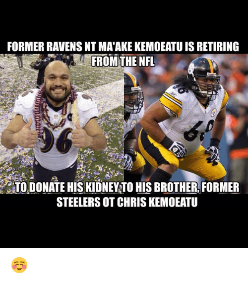 Former Ravens Nt Matake Kemoeatu Is Retiring From The Nfl On To