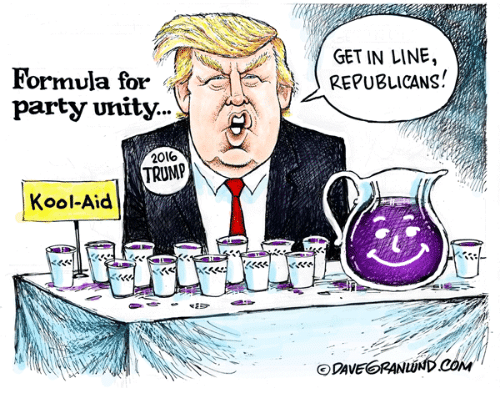 formula for party unity 20lo trump kool aid get in line 12228229 formula for party unity 20lo trump kool aid get in line republicans