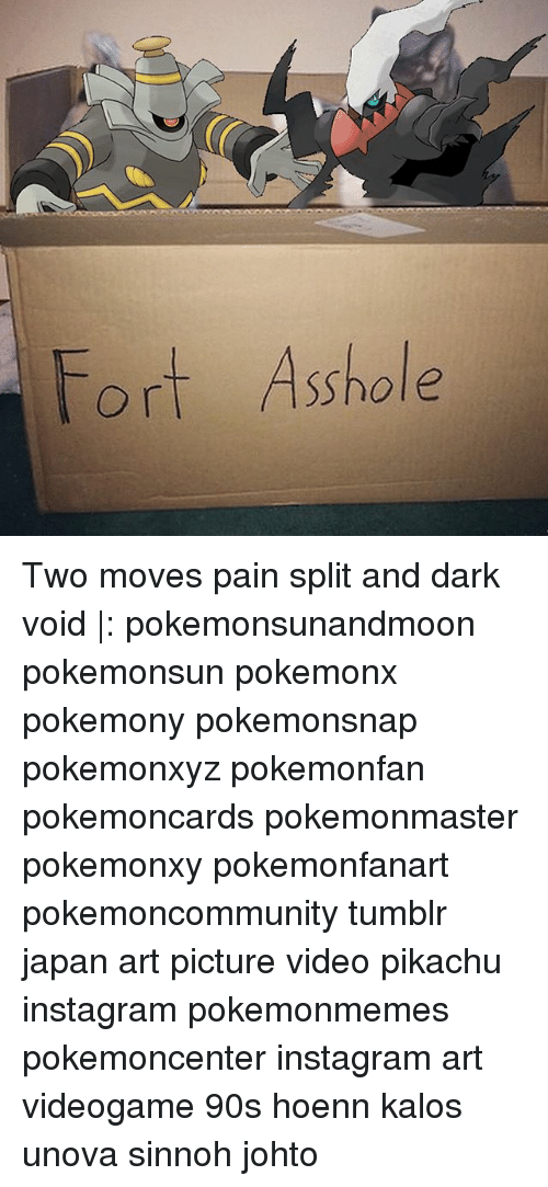 Fort Asshole Two Moves Pain Split and Dark Void