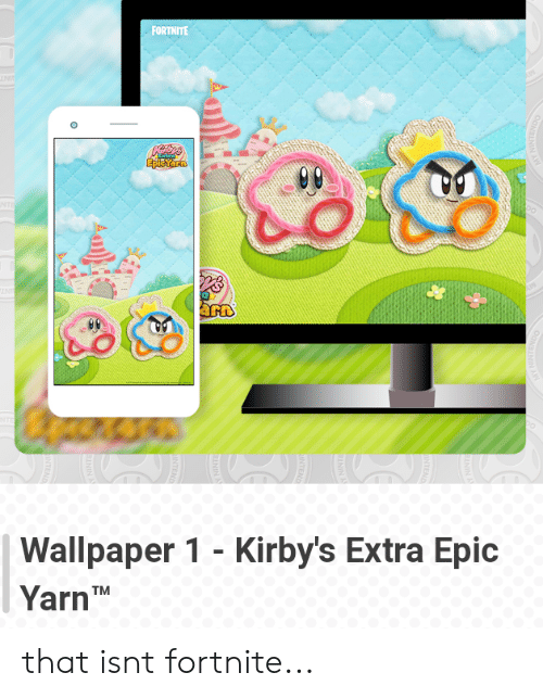 Forthite Arn Wallpaper 1 Kirbys Extra Epic Yarn Tm That