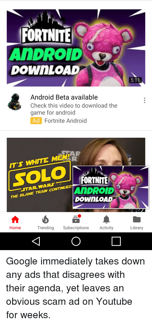 FORTNITE ANDROID DOWnLOAD Android Beta Available Check This Video to