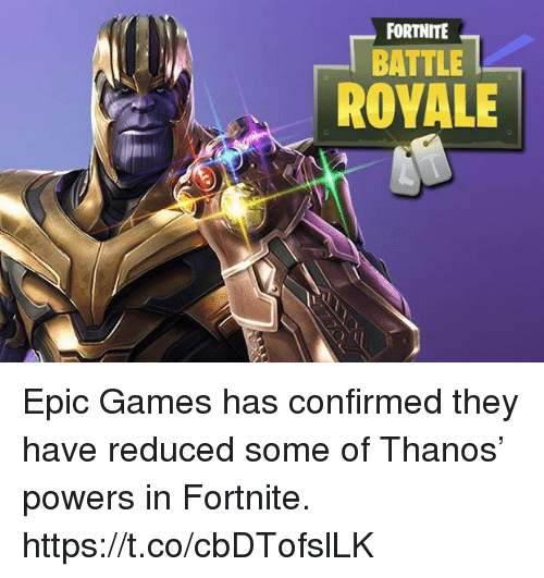 Fortnite Battle Rovale Epic Games Has Confirmed They Have Reduced
