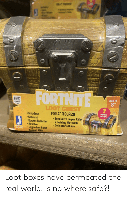 Fortnite Epic Ages 8 Games Loot Chest For 4 Figures 1
