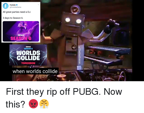 Fortnite All Great Parties Need A Dj 3 Days To Season 6 Fortnit